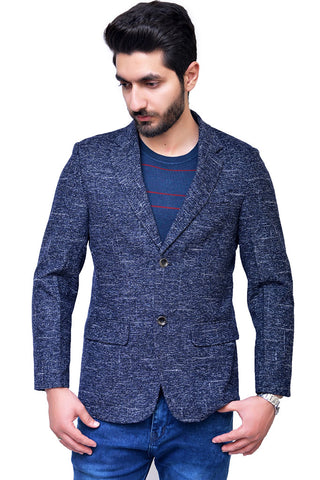 Mens Casual Coat Navy