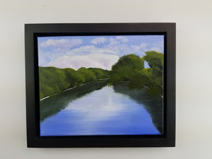 Painting -Wallkill River Afternoon