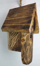 Load image into Gallery viewer, Hand Carved Wood Spirit Bird House