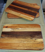 Load image into Gallery viewer, Handmade Hardwood Cutting Boards