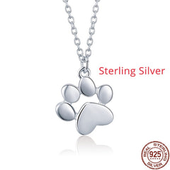 Silver & Gold Color Cute Animal Footprints