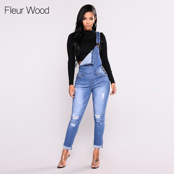WOOD Jeans Bib Female