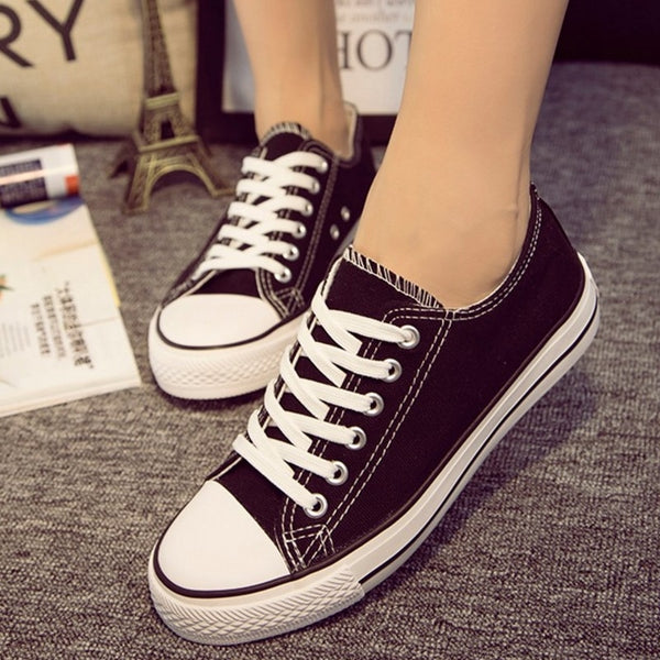 Women Canvas Sneakers Lovers