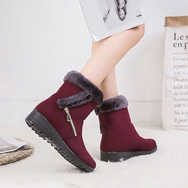 Winter platform shoes