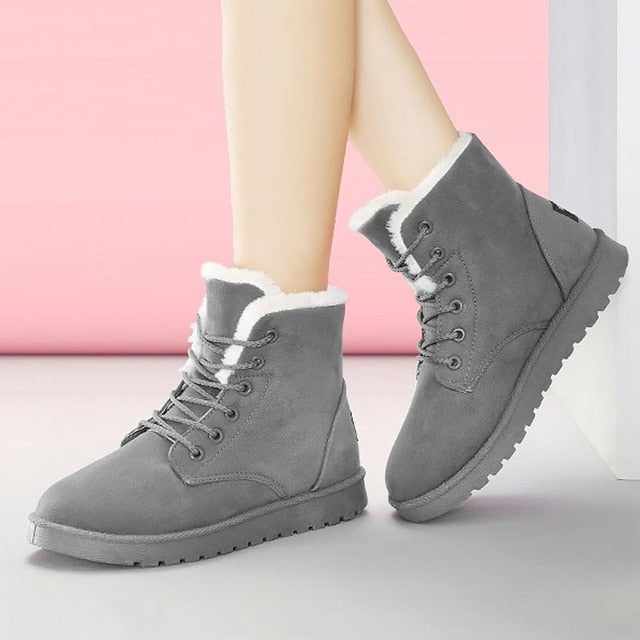 Winter snow boots women sneakers