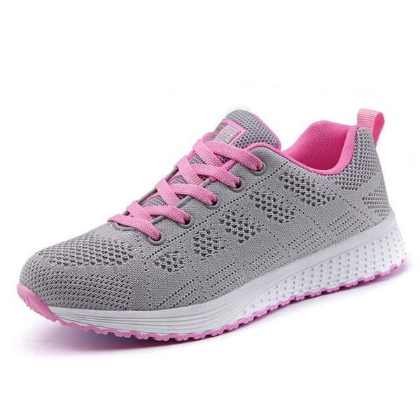 Women Breathable Walking Vulcanized Shoes