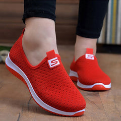 Women's Sneakers Air Mesh Breathable Wedges Shoes