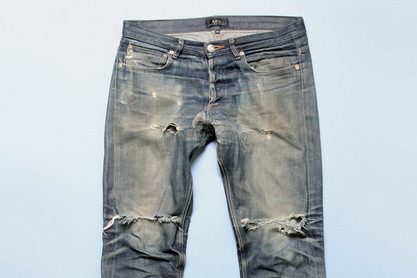 MARCH FAVOURITE: RAW DENIM FROM PARISIAN A.P.C.