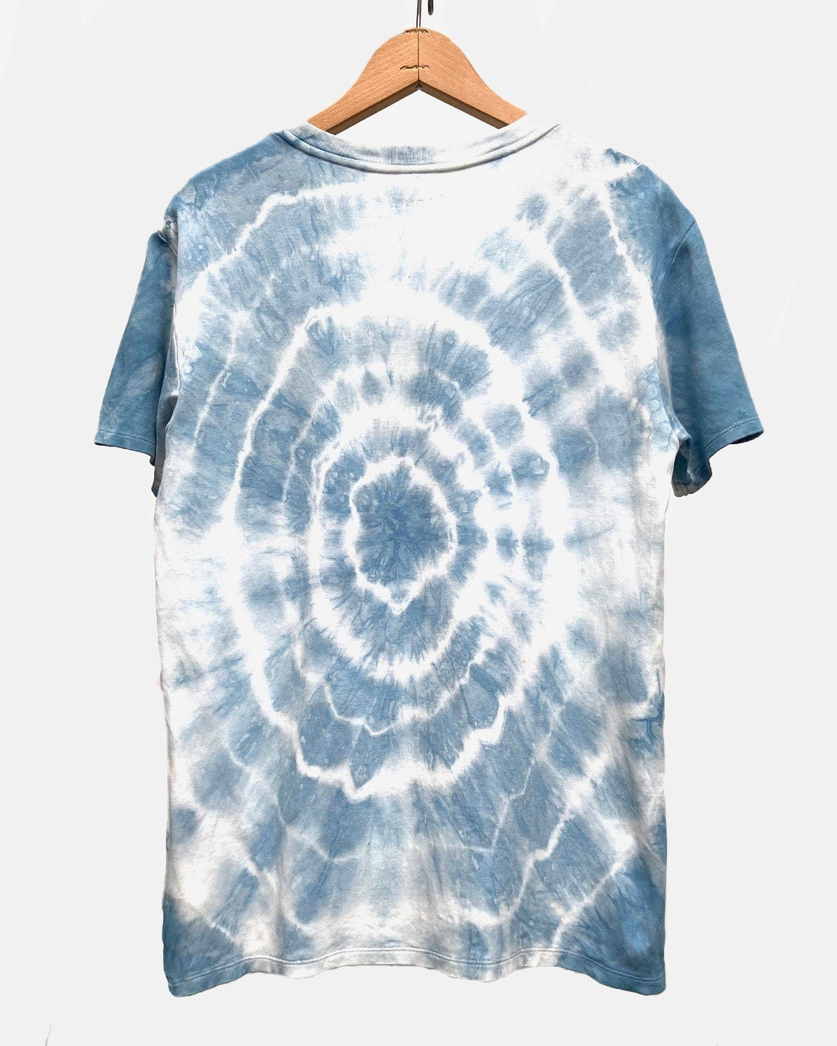 Brook Tee Natural Indigo Tie Dye