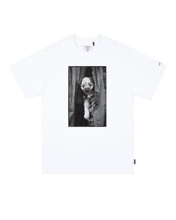 NOAH x Barbour Tee 2 White
