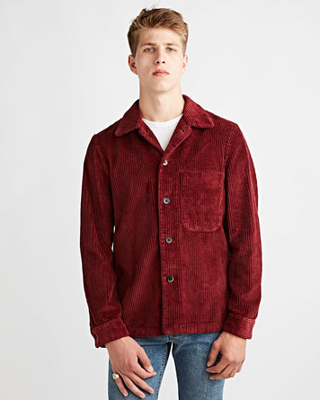 Overshirt Cedrone Napa Red