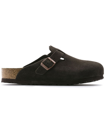 Boston Mocha Suede Regular Soft Footbed