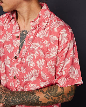 Deadstock Rayon Shirt Pink