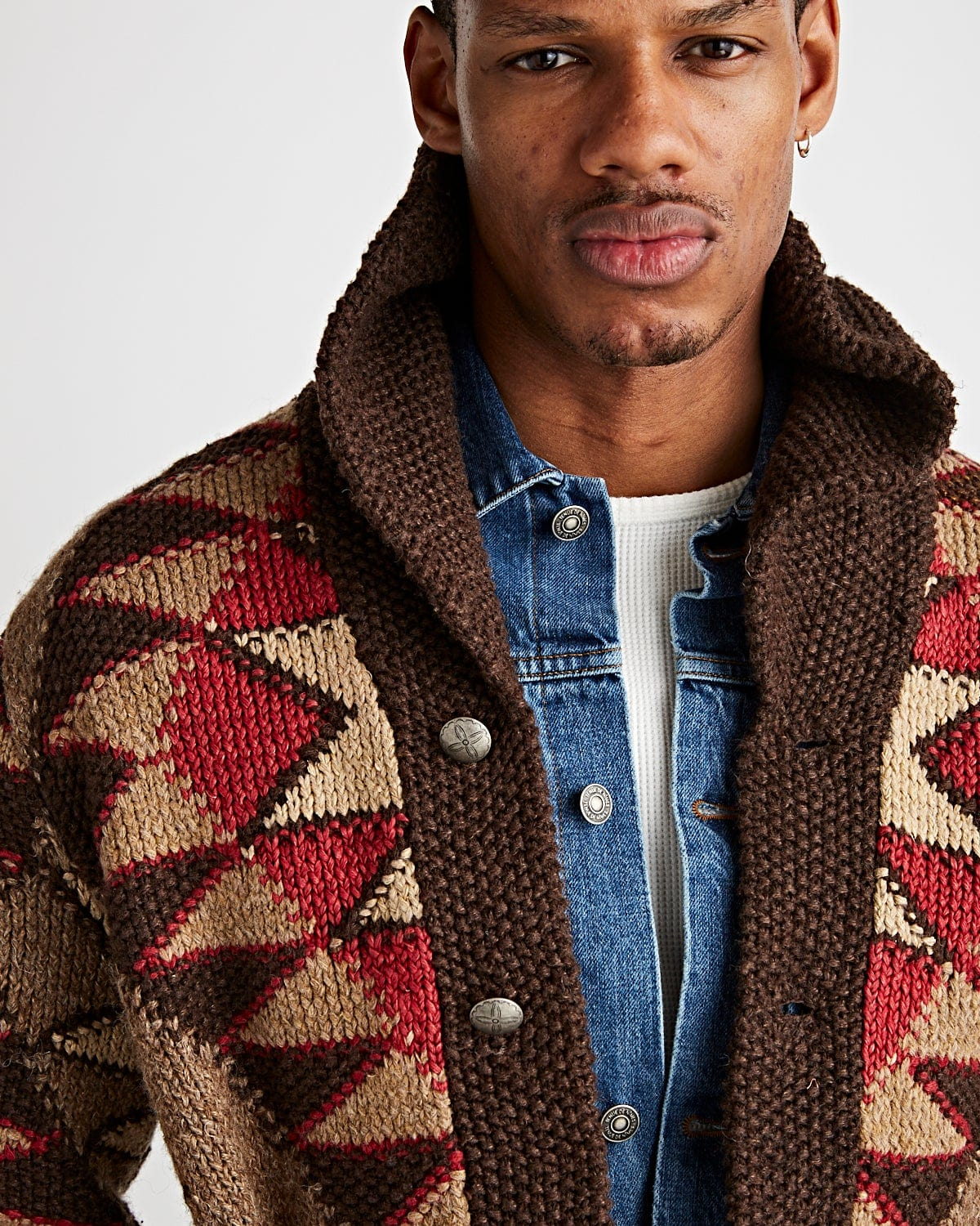 Ranch Shawl Collar Brown - RRL Limited Edition