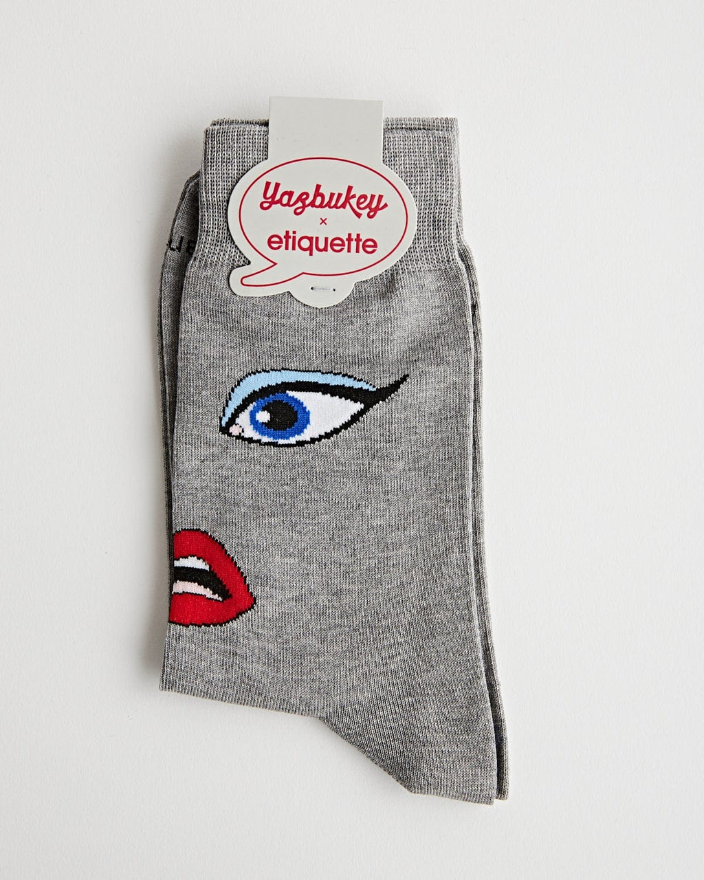 Etiquette x Yazbukey Lips & Eyes Grey