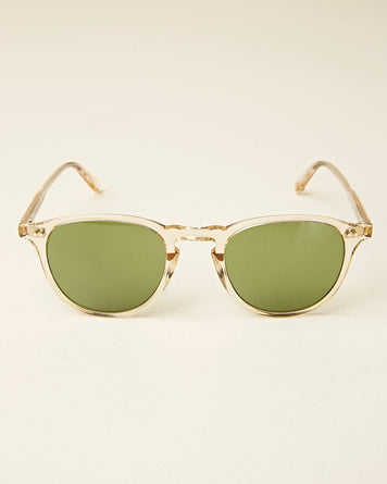 Hampton 46 Champagne with Pure Green Glass