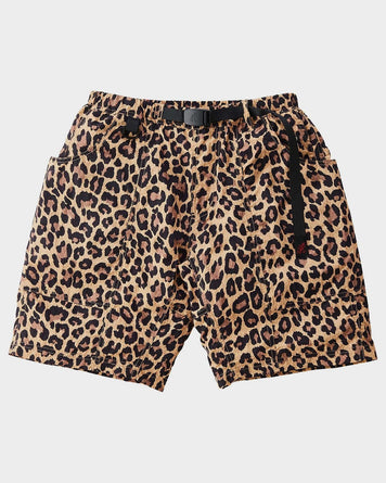 Shell Packable Shorts Leopard