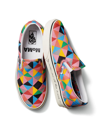 Vans x MoMA UA Classic Slip-On Faith Ringgold