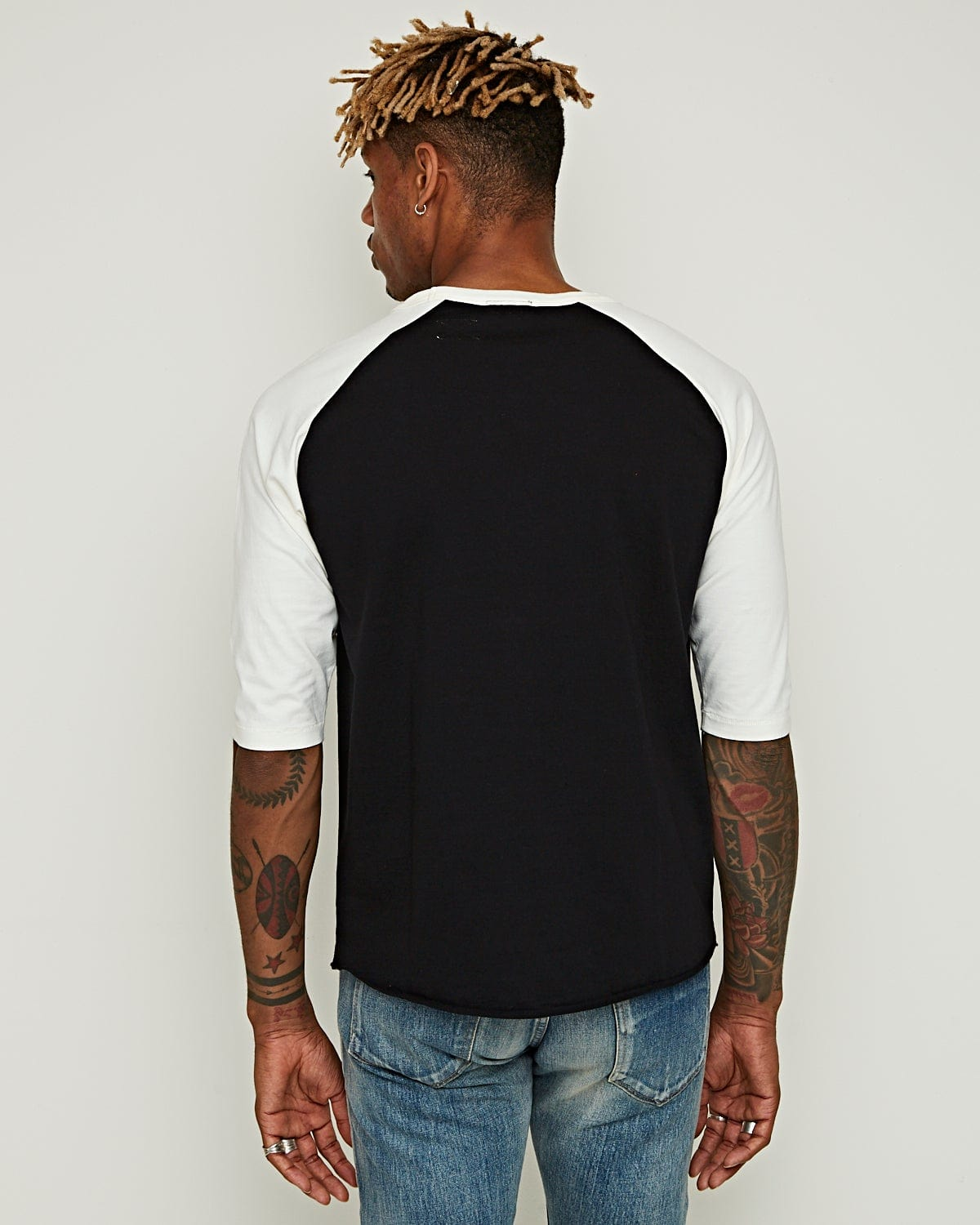 Leon Raglan Vintage Black / Cocatoo