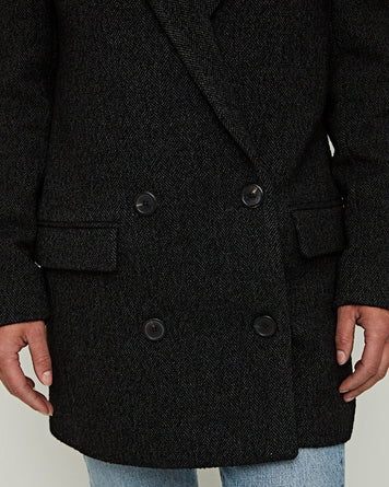 Achasa Coat Anthracite