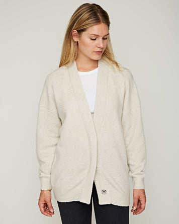 Aelta Cardigan Cloudy White