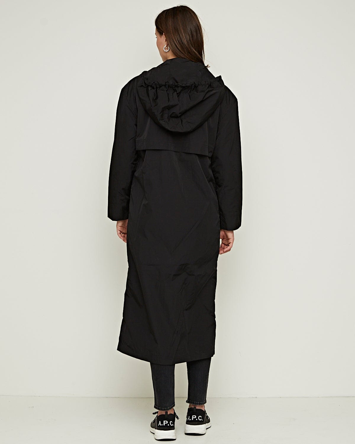 Percey Coat Black