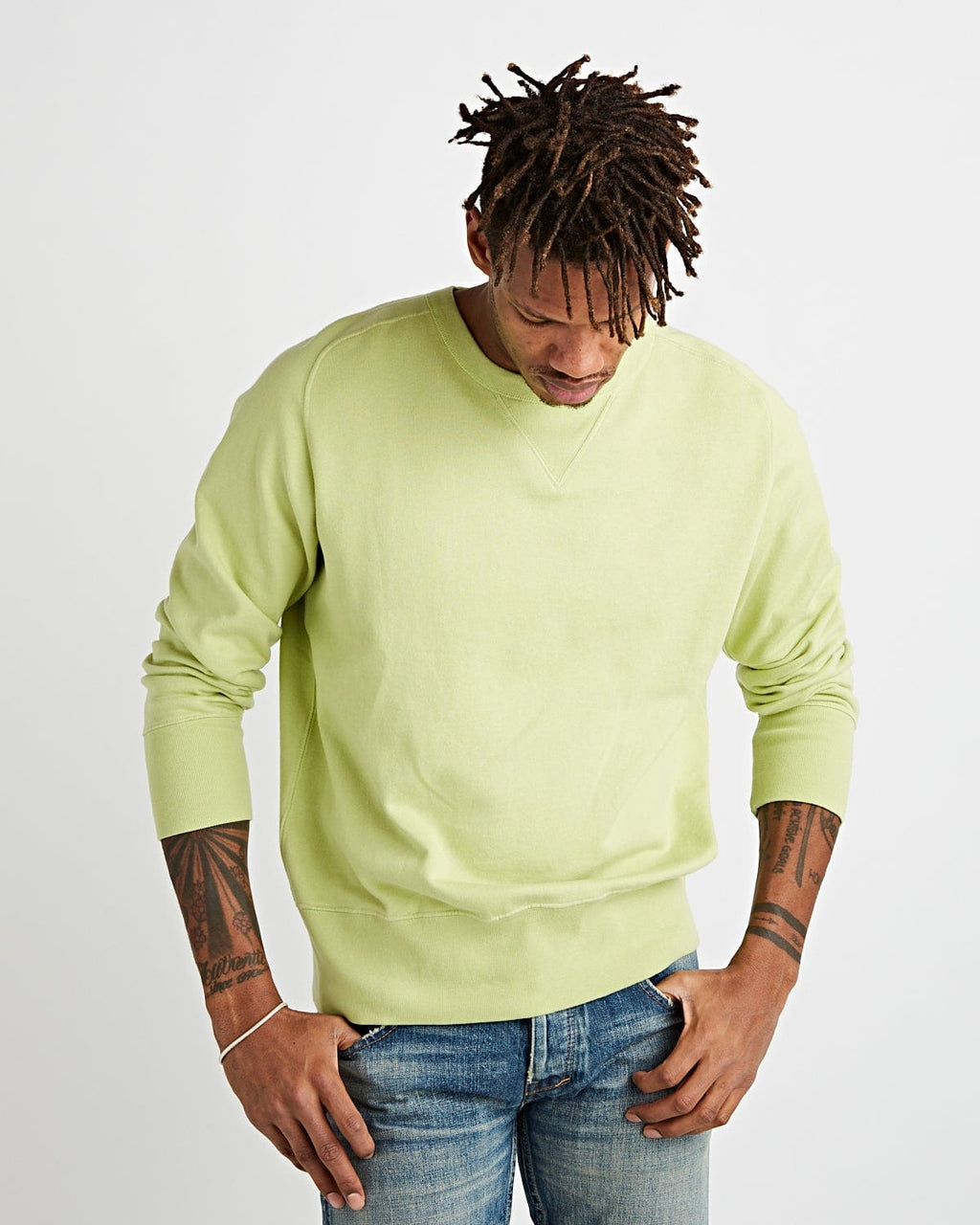 Bay Meadows Sweatshirt Apple Green