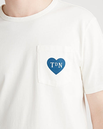 TdN 'Blue Heart' Limited Edition Pocket Tee