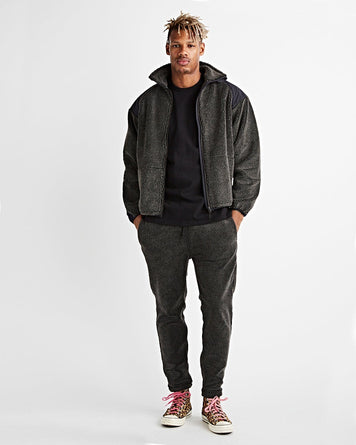 Jacket Fleece Charcoal Grey