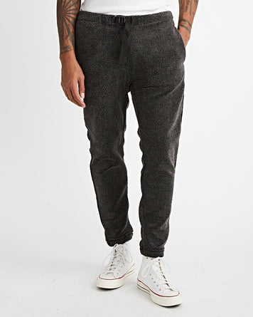 Pants Fleece Charcoal Grey