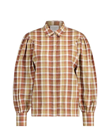 Marcelle Beige Check