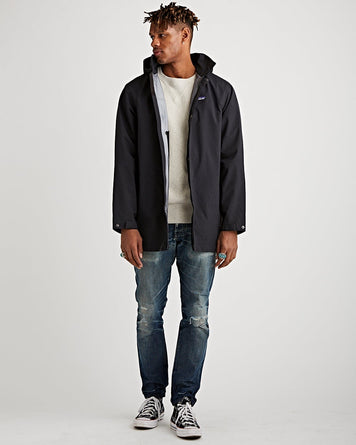 M's City Storm Rain Parka Black