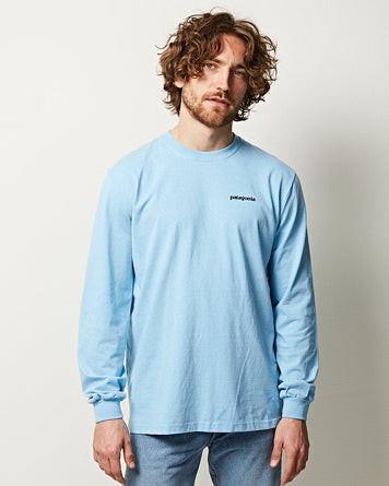 M's L/S Responsibili-Tee Blue Light