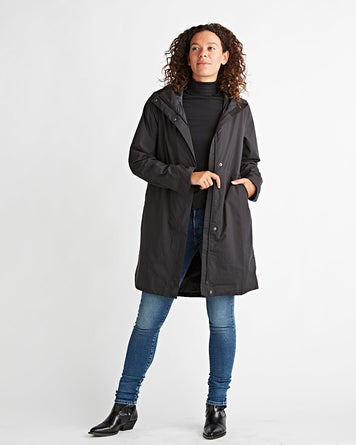 W's Yosemite Falls Trench Black