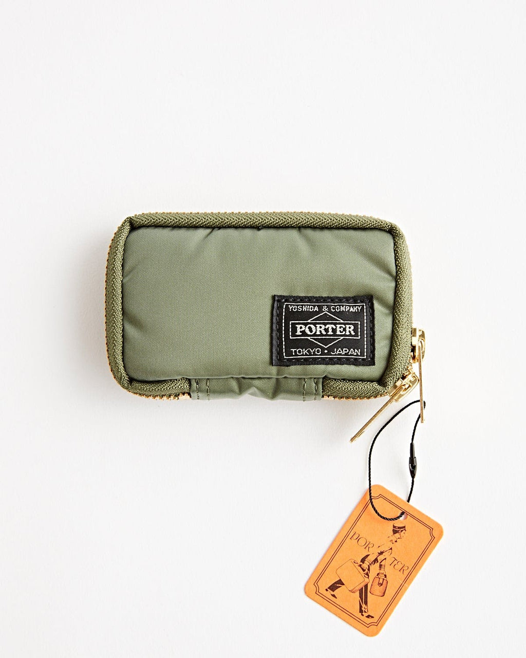 Tanker Key Case Sage Green