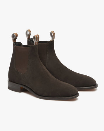 Classic Craftsman Chocolate Suede