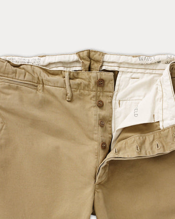 Officer's Flat Pant New Military Khaki
