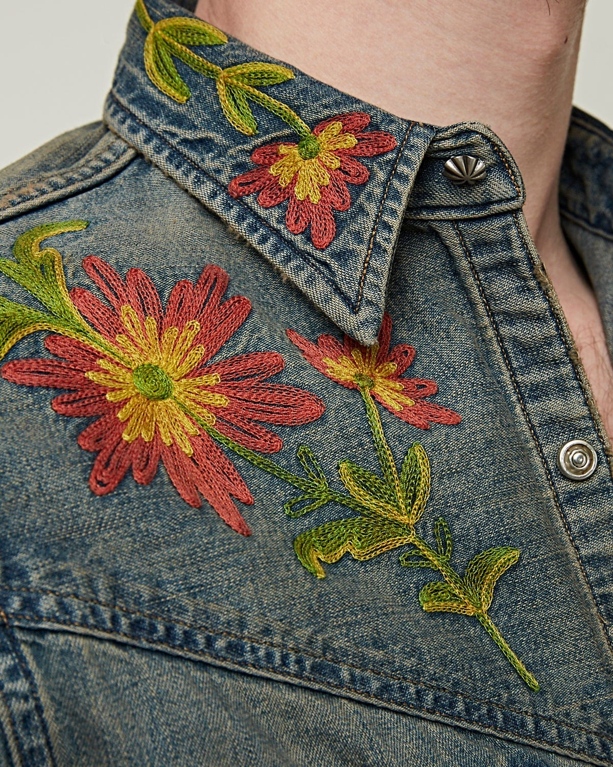 Cary Western Shirt Embroidery