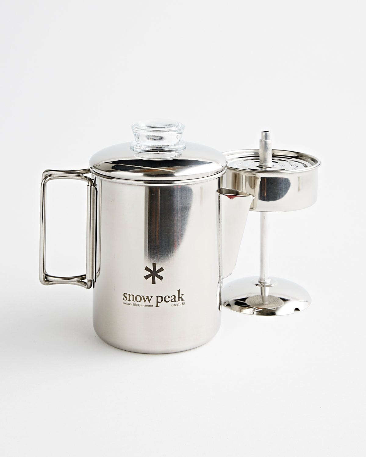 Stainless-Steel Coffee Percolator 6 Cups