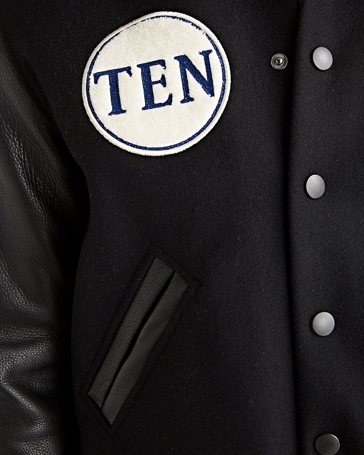 OUT OF STOCK! TdN 10 Year Anniversary Varsity Jacket