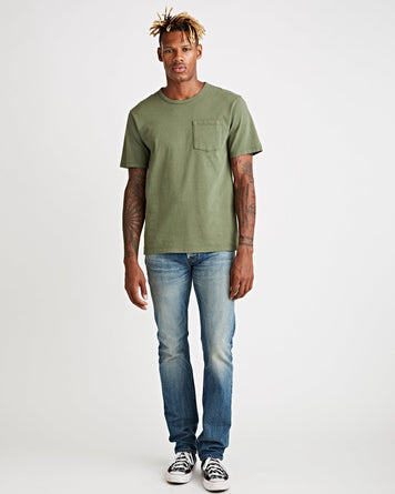 John Pocket Tee Army