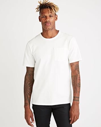 John Pocket Tee White