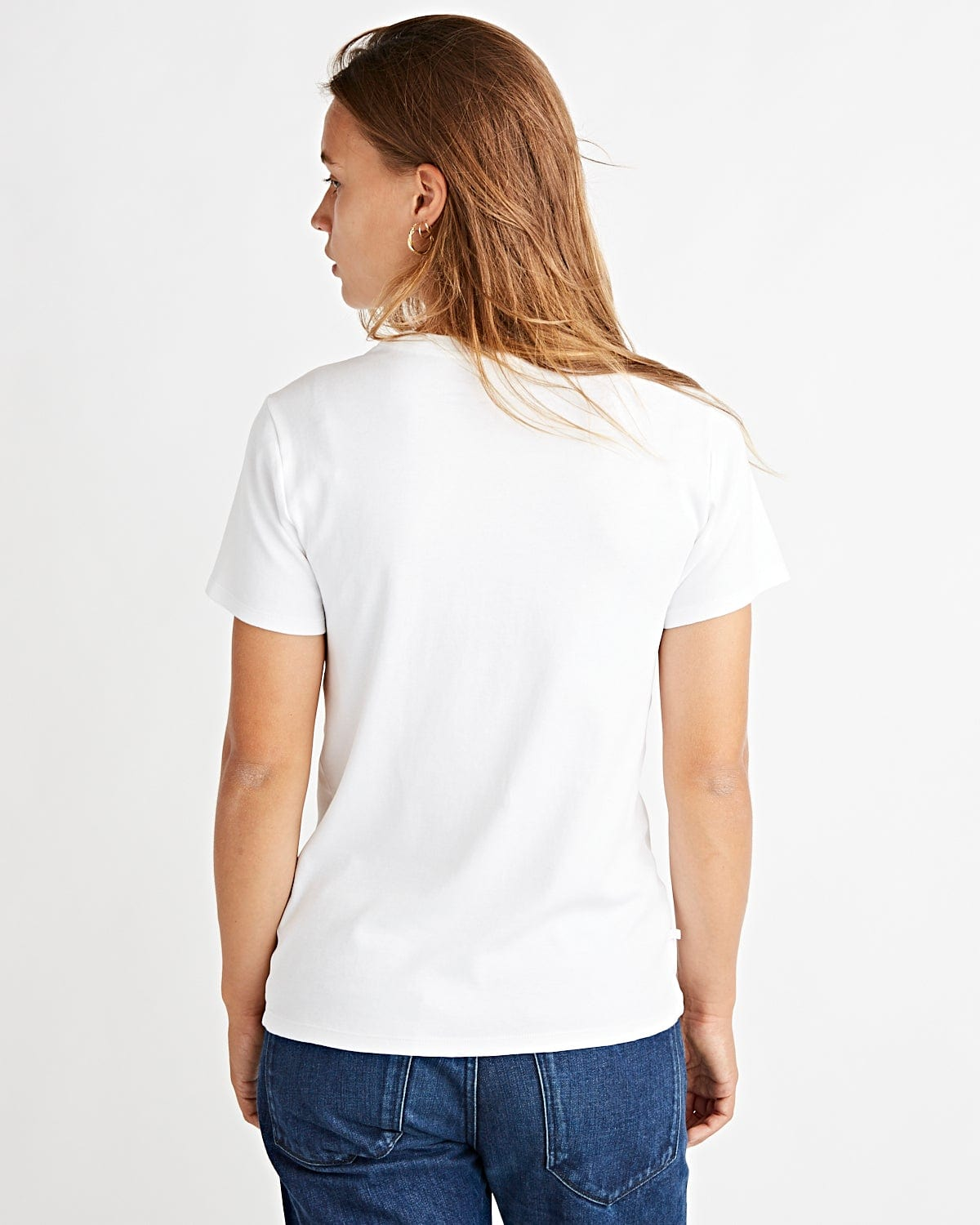 Brook Tee Optic White