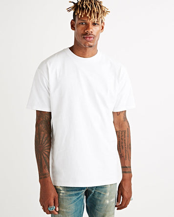 Bruce Tee Optic White