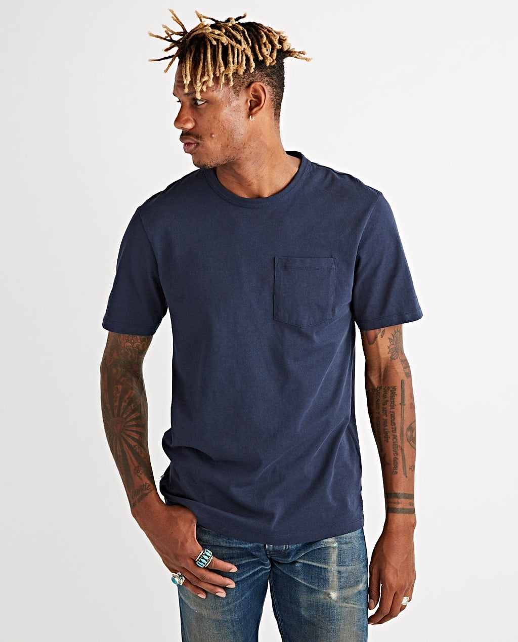 John Pocket Tee Outer Space