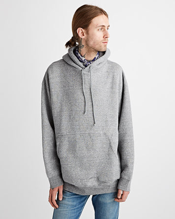 Oversized Hooded Parka Gray