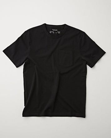 John Pocket Tee Black
