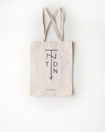 TdN Tote Bag Off White