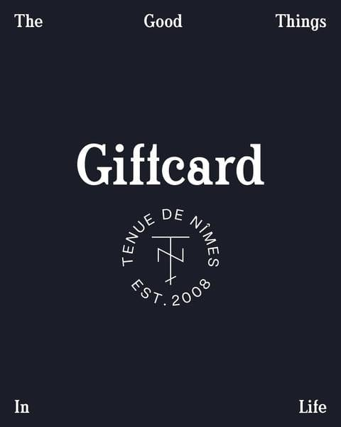 Gift Card Tenue de Nîmes