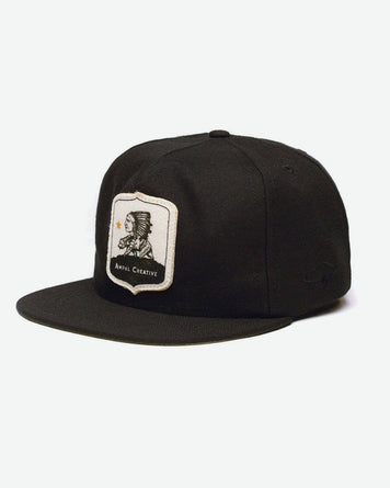 Bear Chief Strapback Black